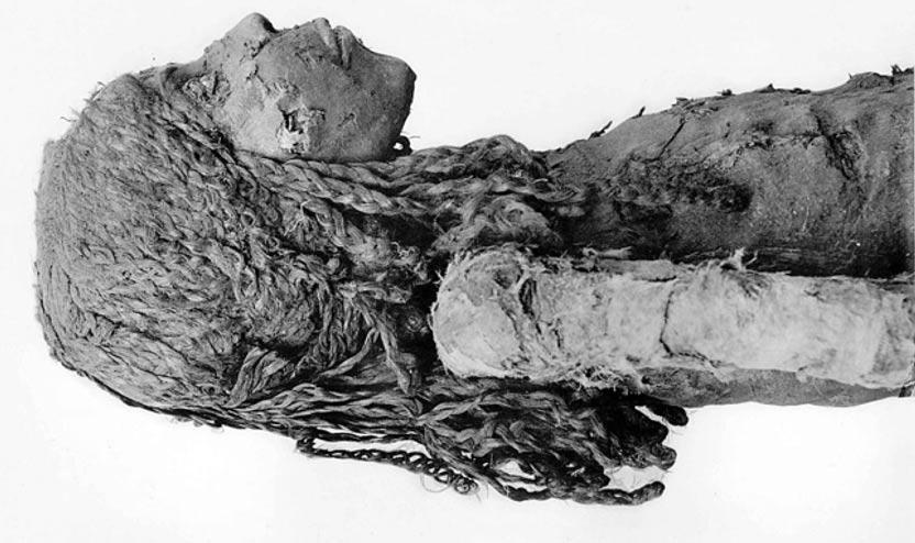 The Mummy of Nedjmet, Cairo, Egypt