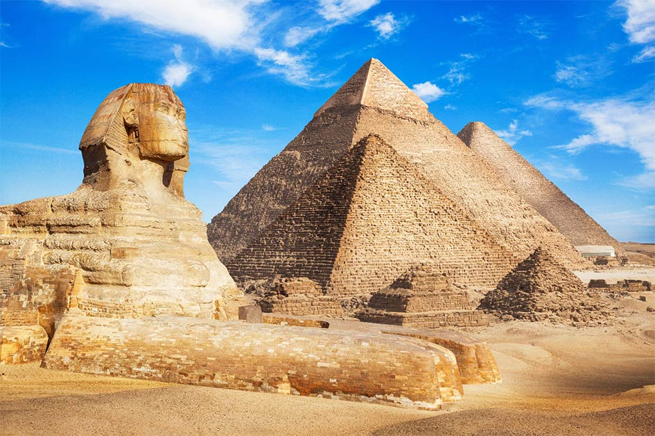 "Elon Musk's ""Ancient Aliens"" Twitter comment has caused many questions about who built the pyramids and alien life.                       Source: merydolla / Adobe Stock"