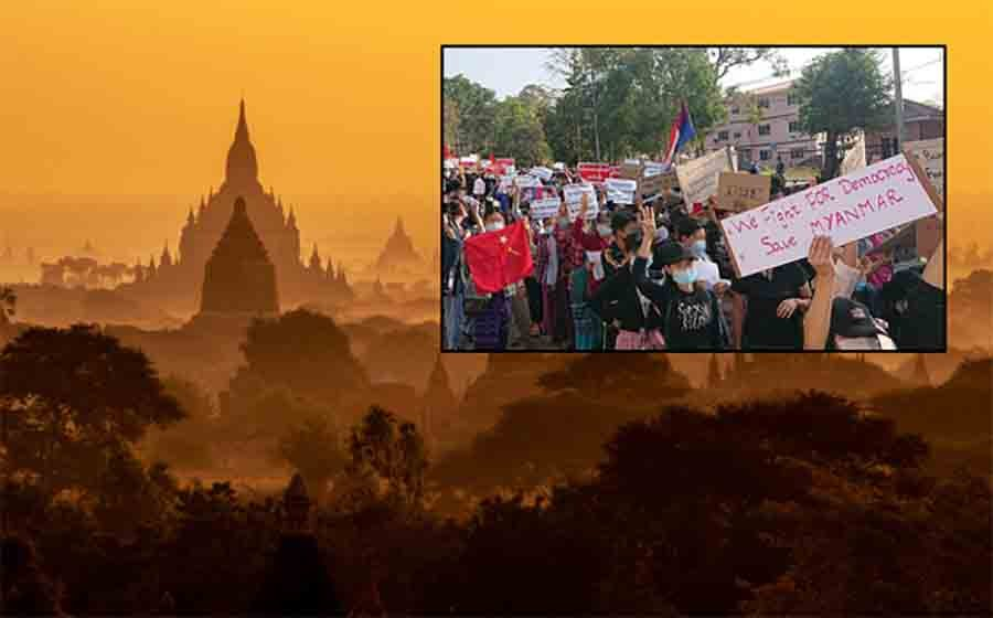 Myanmar Violence Spreads to Ancient Temples of Bagan