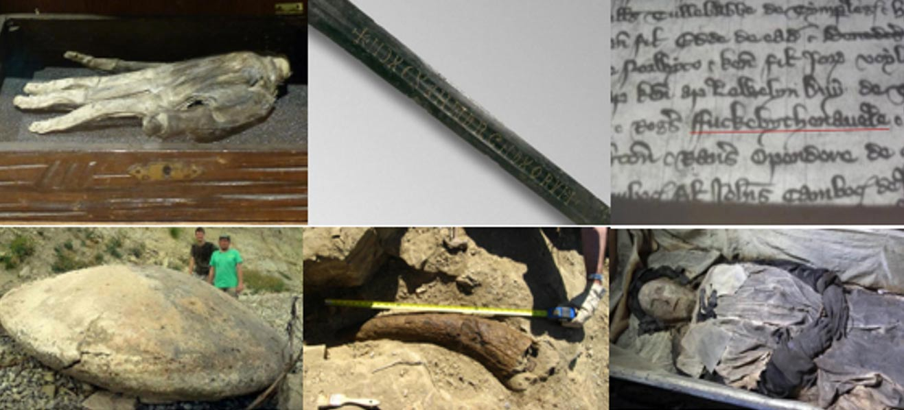 Ten Odd and Mysterious Historical Finds of 2015