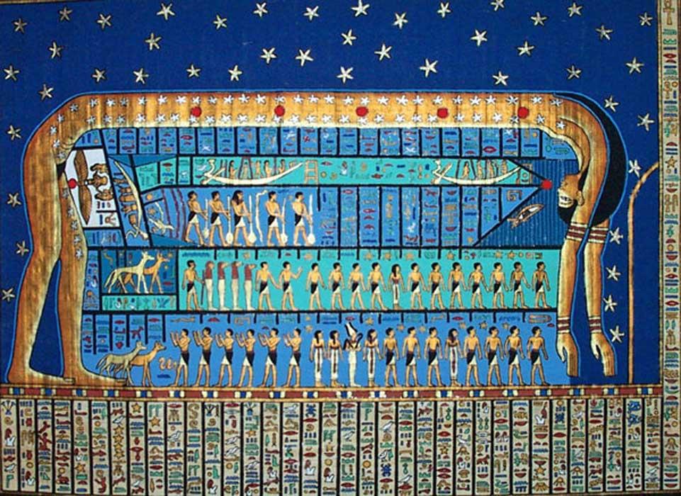 The Mythology of Nut, Mother of Gods