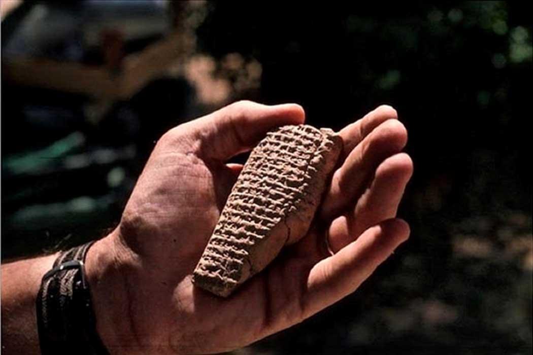 Cuneiform tablet known as Letter ZTT 22. (Credit: Ziyaret Tepe Archaeological Project)