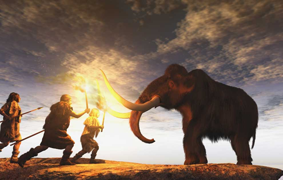 Neanderthals and woolly mammoths seem to have shared more than just an environment.