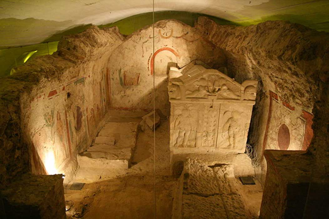 Early Christian Mausoleum in the necropolis of Pécs