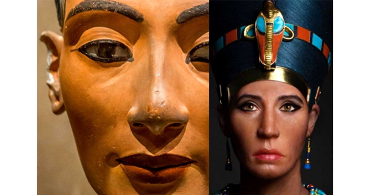 Ever Wonder Where That Iconic Bust Of >> Bust Of Contention Nefertiti S Sculpture Raises Issues Of Race And
