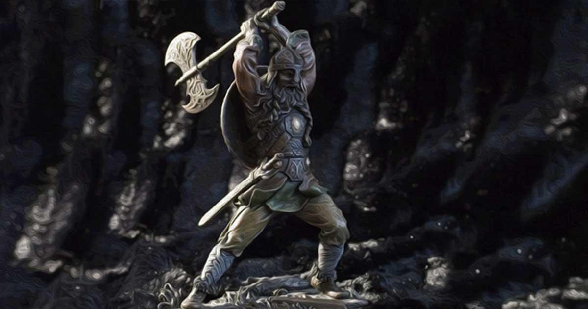 A Viking Warrior