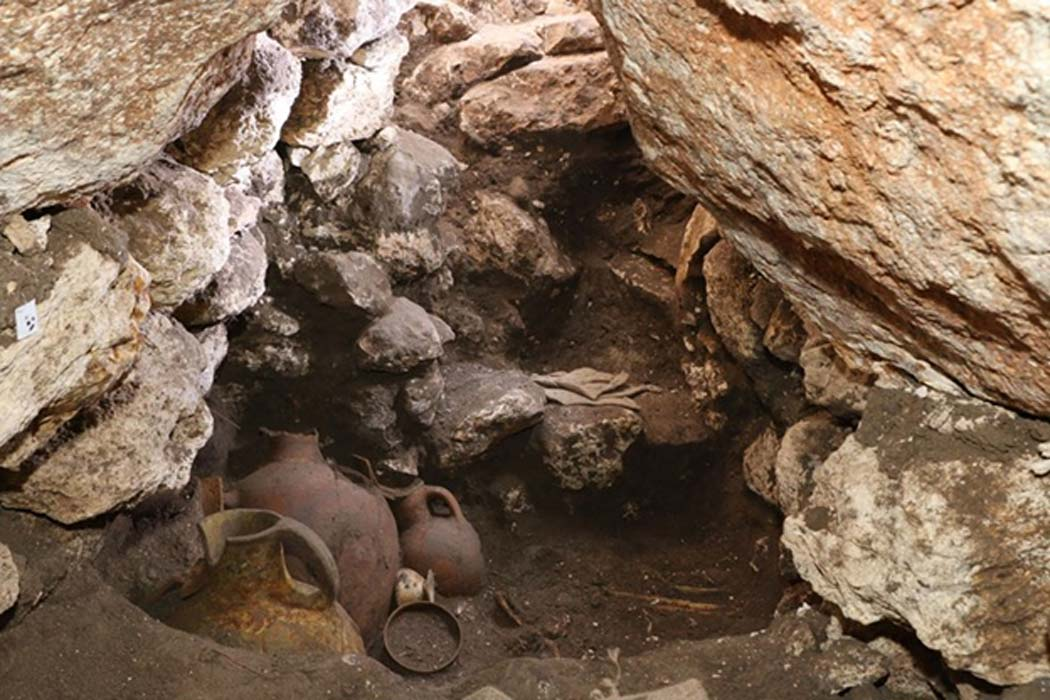 Archaeologists were stunned to discover the tomb—replete with burial offerings and human remains—undisturbed for some 3,600 years.