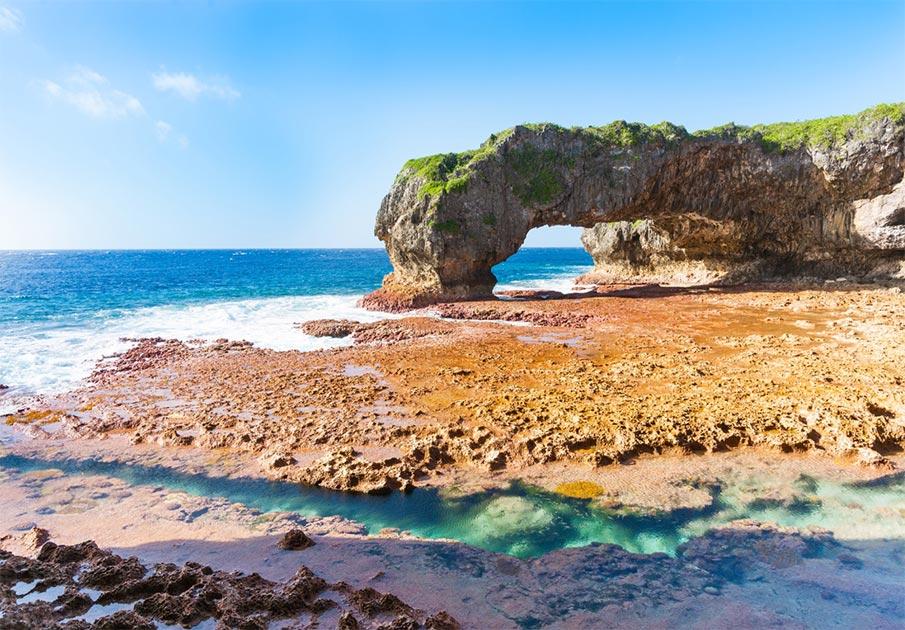 Scenic Talava Arch, Niue                   Source:  Brian Scantlebury / Adobe Stock