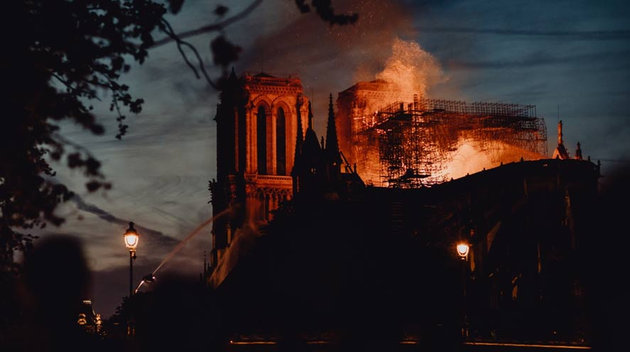 Experts are studying the melted lead from the fire that ravaged the Notre Dame cathedral.