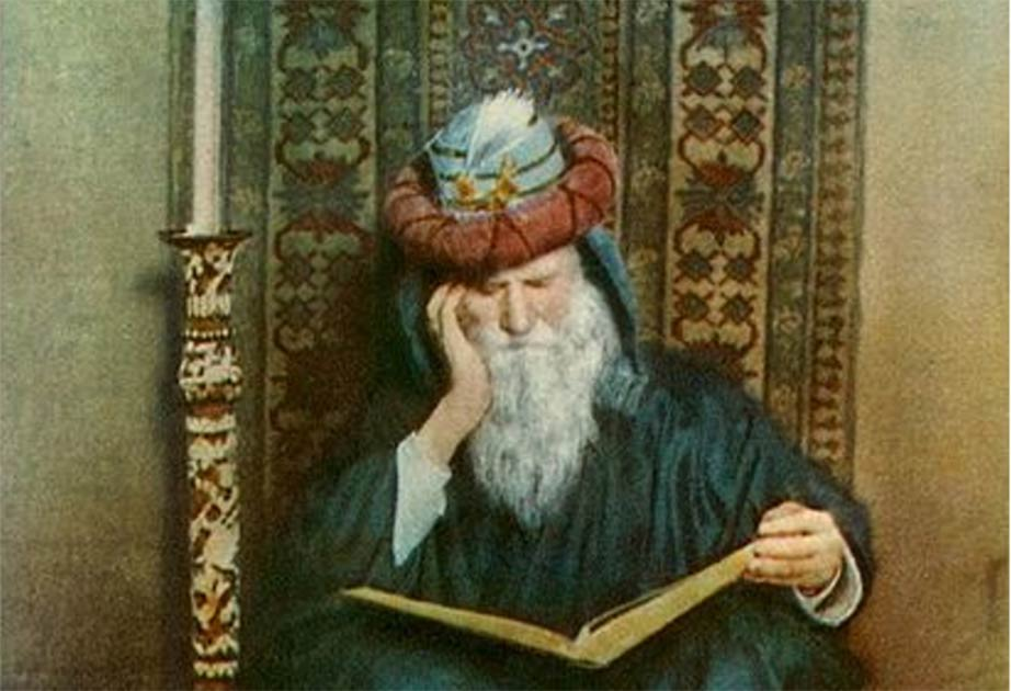 Omar Khayyam, 'Earth Could Not Answer' by Adelaide Hanscom Leeson.        Source: Public Domain