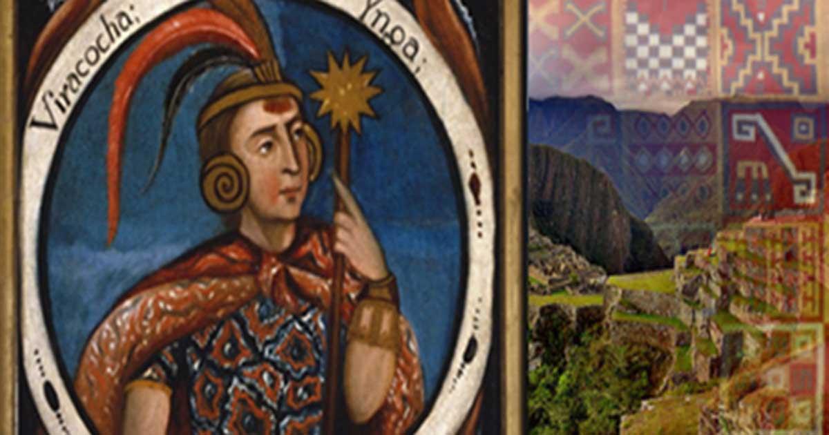 Hatun Tópac; Viracocha, Portraits of Inca Kings, and Inca Tunic (Public Domain), Machu Picchu