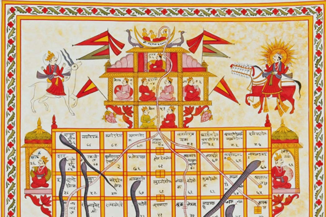 The Origin of Snakes and Ladders: A Moral Guide of Vice and Virtue