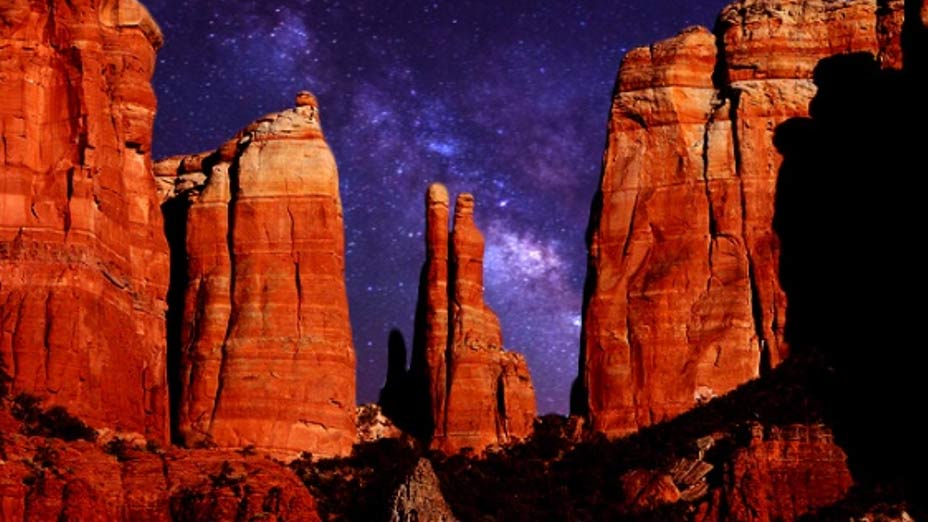 Deriv; Cathedral Rock, Sedona, Arizona.