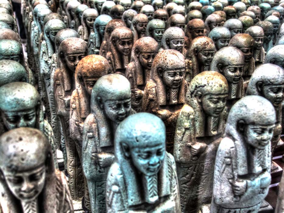 Pharoah's Little Helpers: The Shabti Funerary Statuettes of the Ancient Egyptians