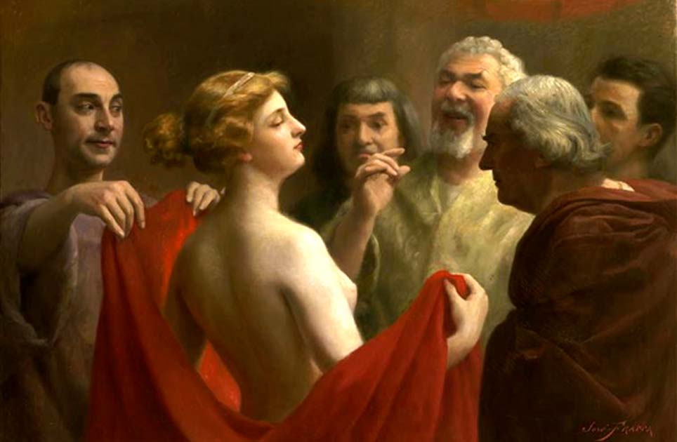 Phryne, The Ancient Greek Prostitute Who Flashed Her Way to Freedom