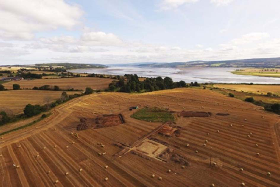 Large Pictish cemetery in The Black Isle. Credit: NOSAS/Tarradale Through Time / Andy Hickie