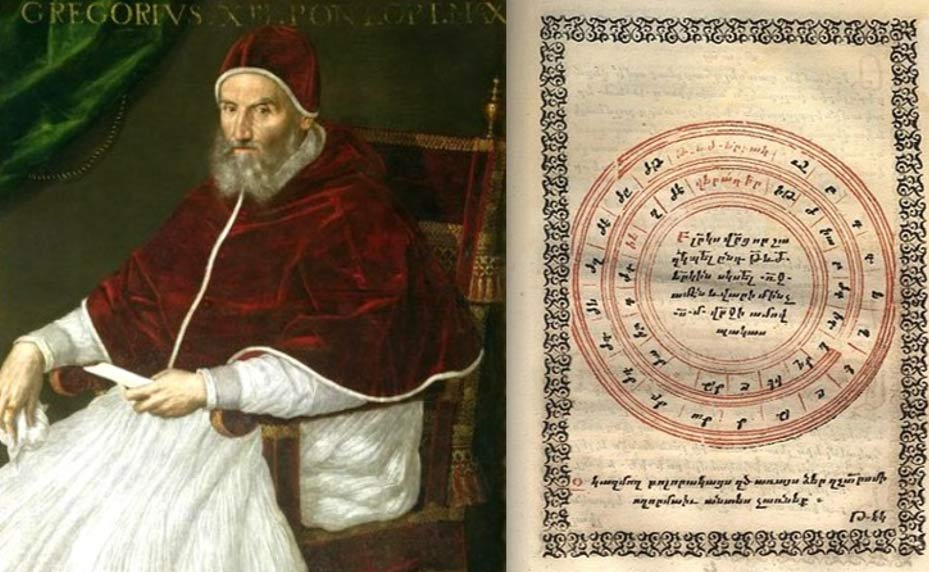 Image result for Gregory XIII (Gregorian Calendar)