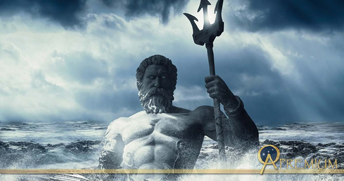 Poseidon, god of the Mediterranean Sea
