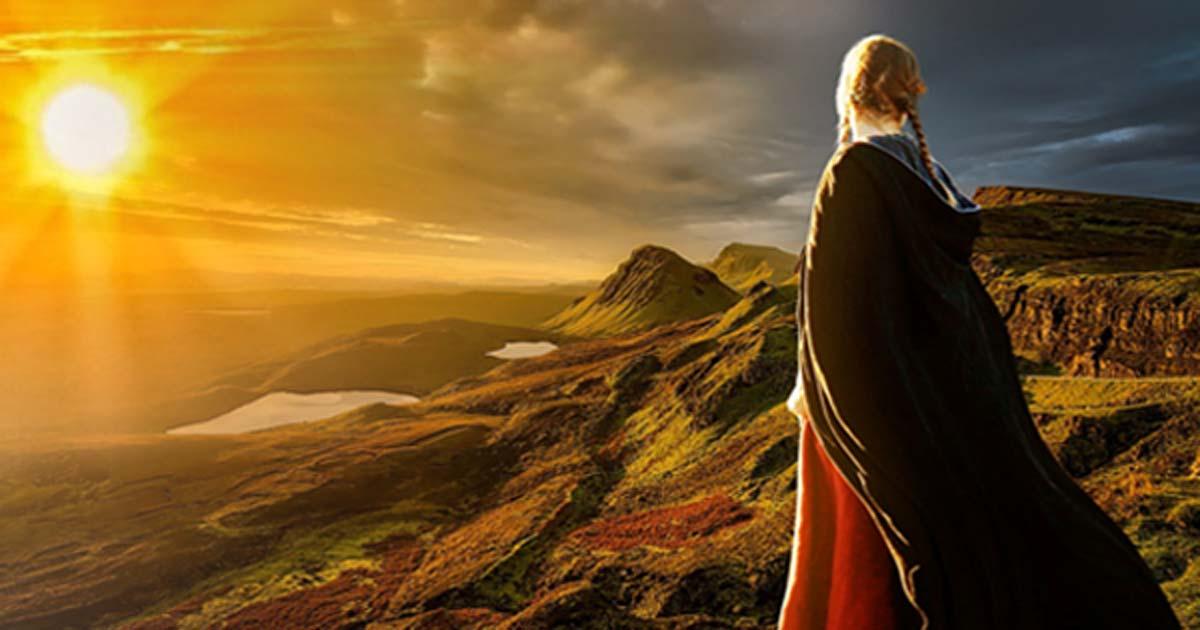 Solar gods were worshiped in prehistoric Ireland.