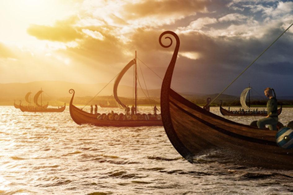 Viking explorers  Source: Vlastimil Šesták / Adobe Stock