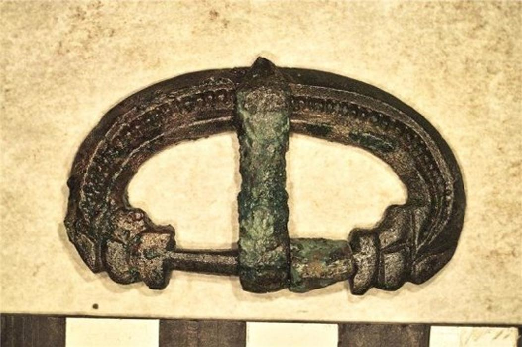 Rare Discovery of Late Roman official and Precious Belt Buckle Unearthed in Leicester