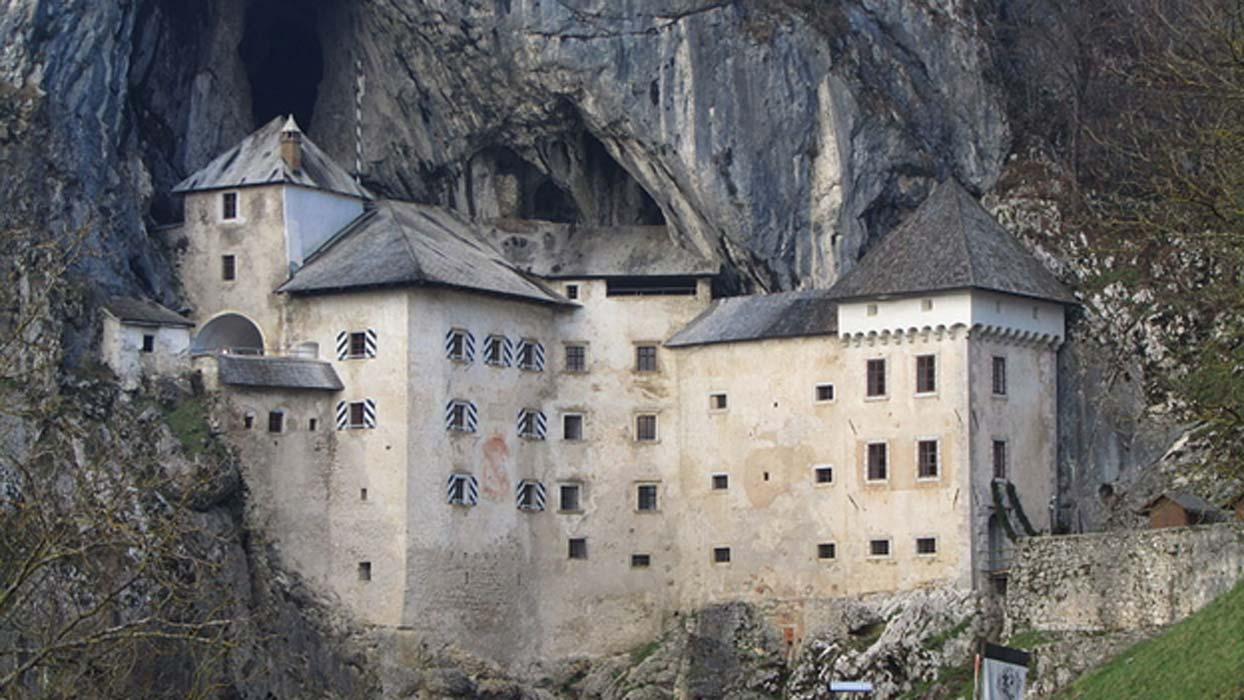 Predjama Castle.