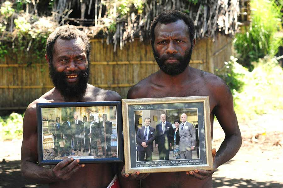 The Prince Philip Movement: Pacific Tribe Mourns Loss of Living Deity