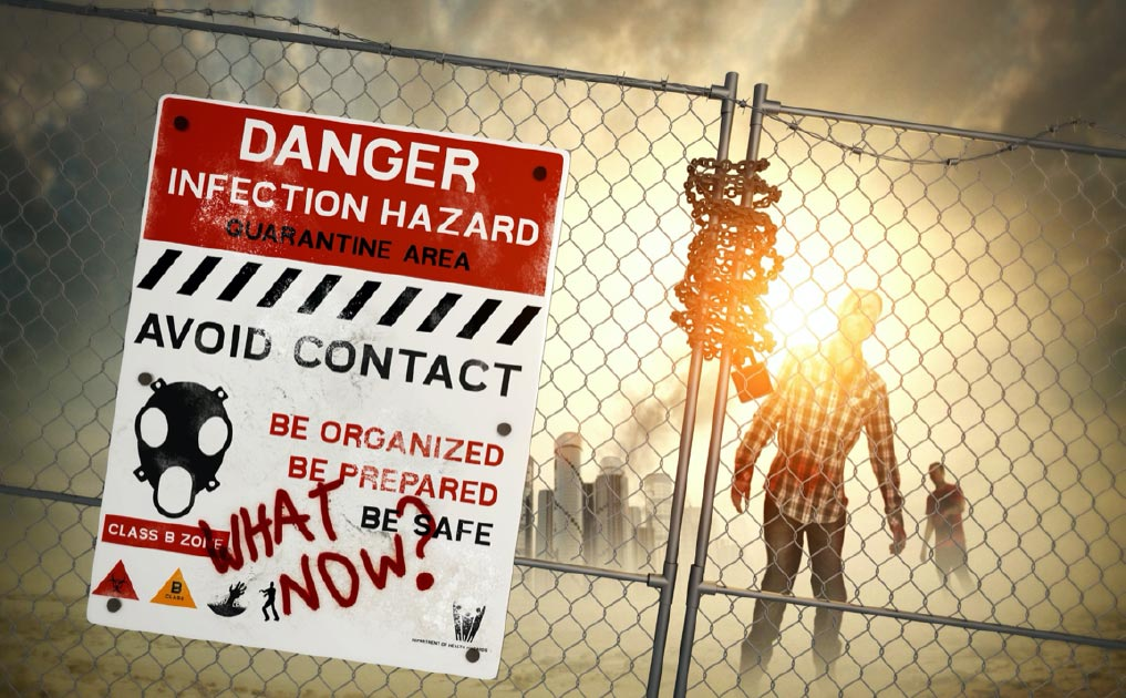 Representation of a quarantine zone.           Source: James Thew / Adobe stock
