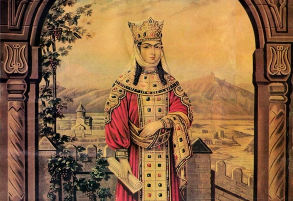 Image result for king tamar of georgia