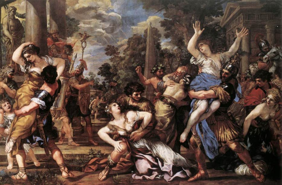 The Rape of the Sabine Women by Pietro da Cortona