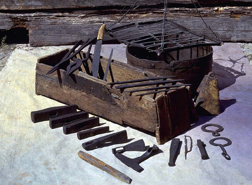 Unearthing the 1,000-Year-Old Story of a Rare Viking Toolbox