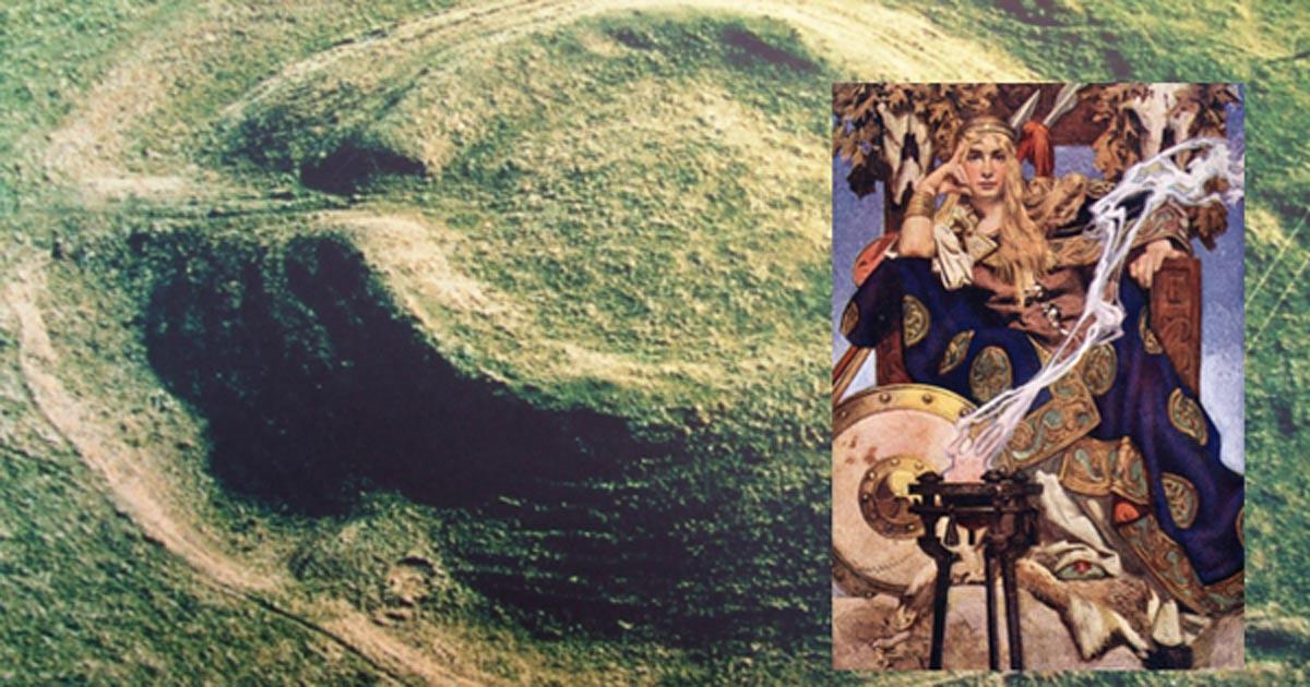 The Rathcroghan mound