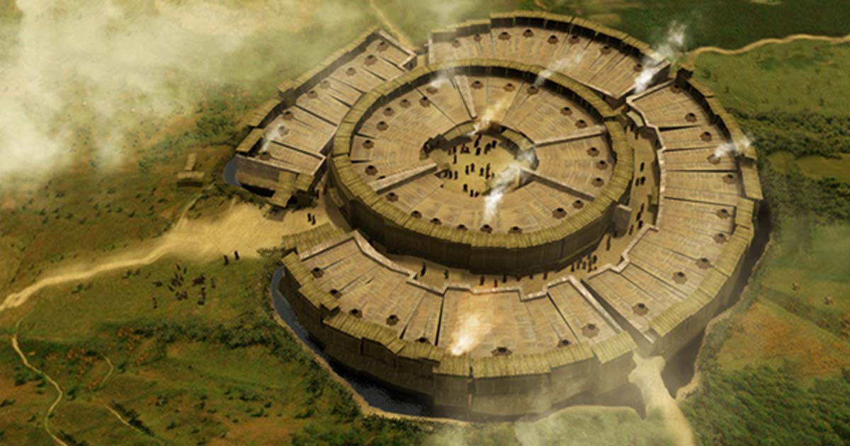 Reconstruction-of-Arkaim-archaeological-