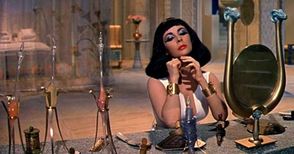 Elizabeth Taylor, 'Cleopatra' (1963).