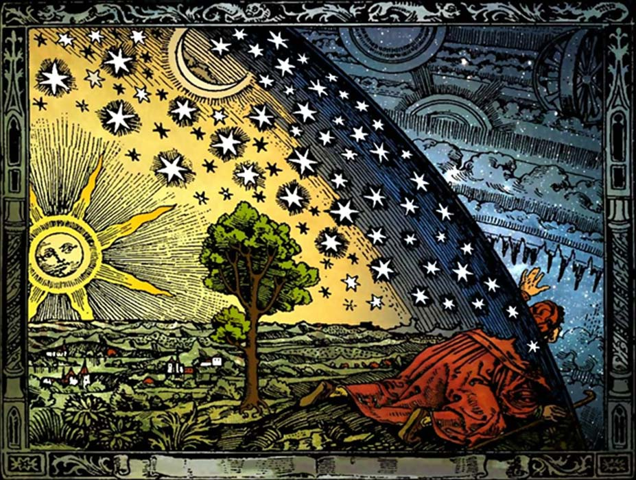 Camille Flammarion engraving, 188