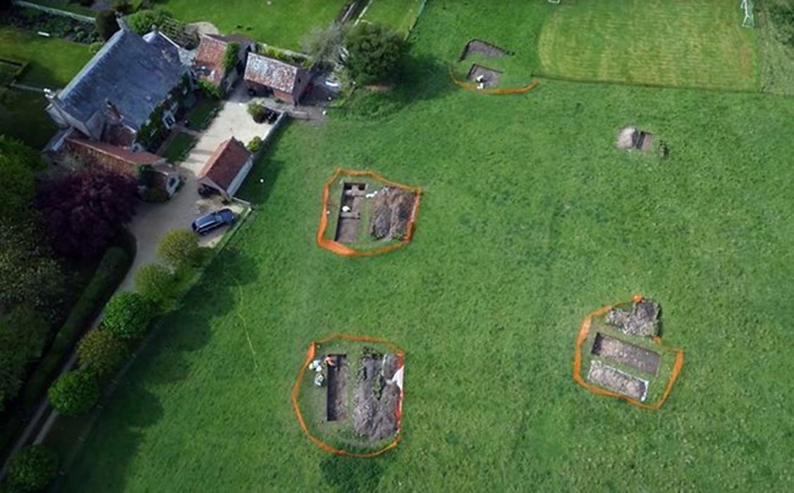 Impressive Mosaic and Large Roman Villa Discovered in UK… But it is Now Re-Buried