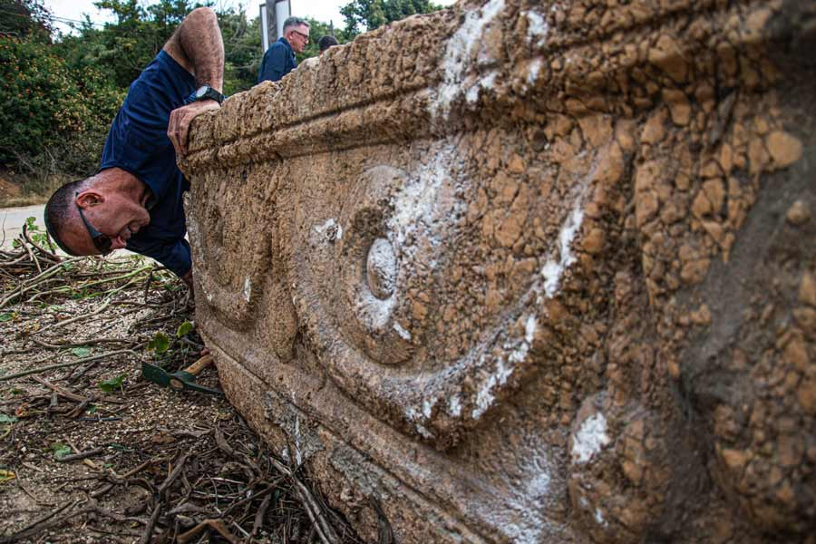 Decorated Roman Coffins Defended From Afterlife Threats