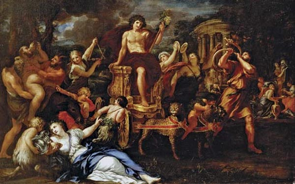 the origin of the god dionysus and how the god affected the classical greeks