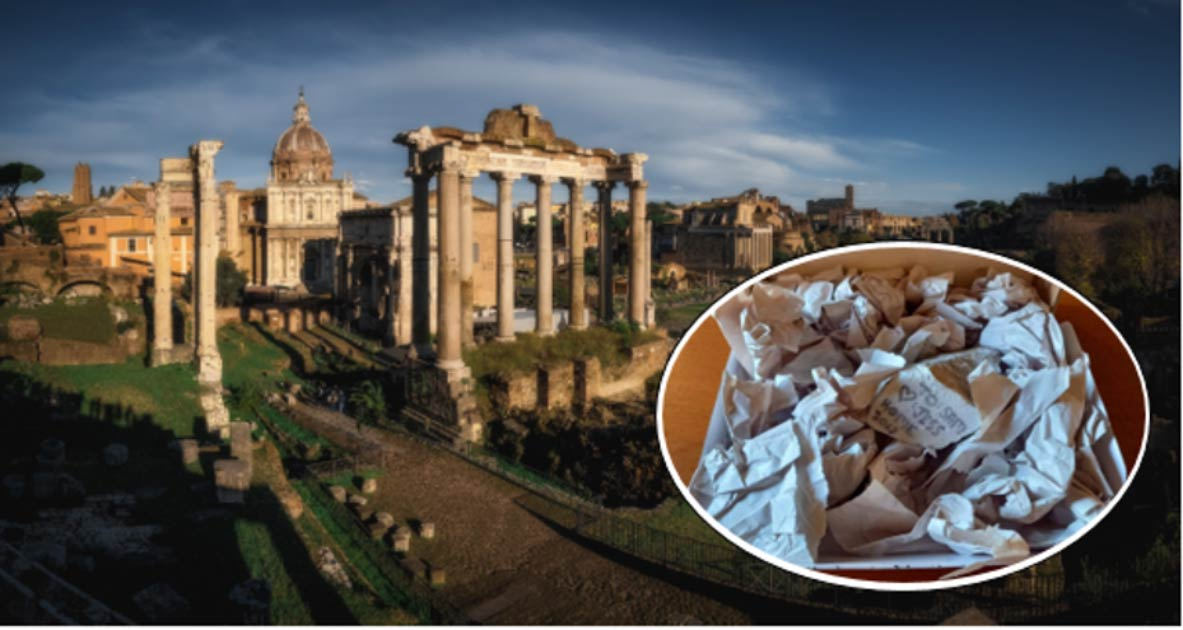 Stolen Roman Marble Fragment Returned by Regretful Thief