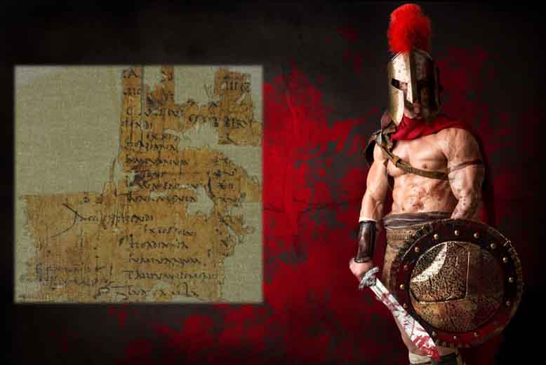 Ancient Pay Slip Shows That This Roman Soldier Slaughtered for Nothing