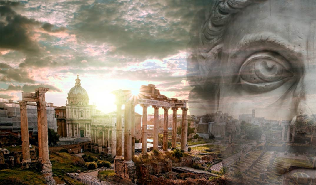 Did Romulus, the legendary first king of Rome, (neurobite /Adobe Stock) really exist? (samott /Adobe Stock)