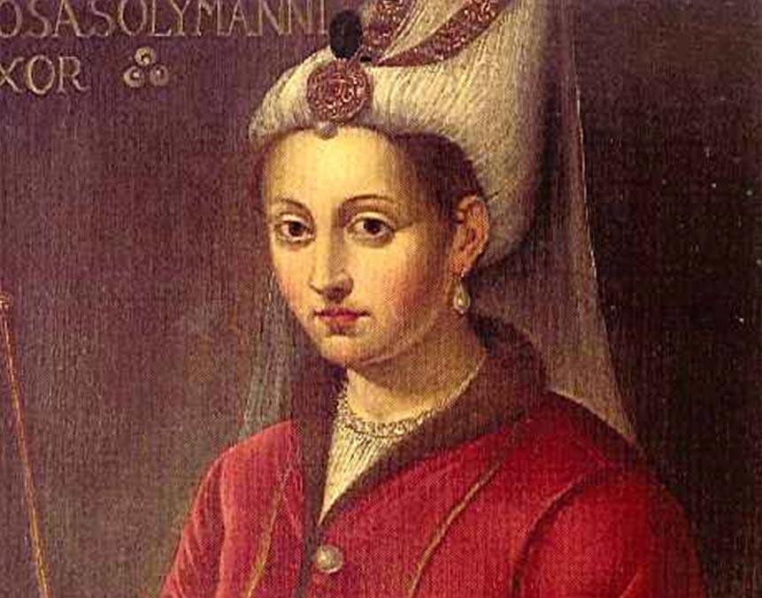 Rosa Solymanni uxor. (16th century).