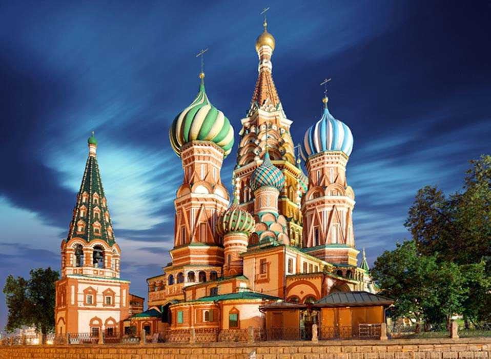Wisata di Moskow. St. Basil's (Pokrovsky) Cathedral