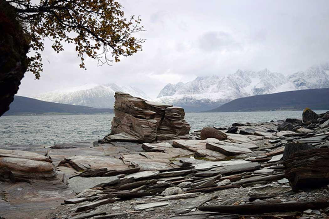 A seida (worshiped stone) Tromsø, Norway.