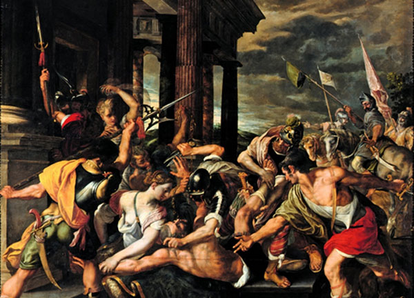 Delilah's Betrayal and Samson's Imprisonment by the Philistines