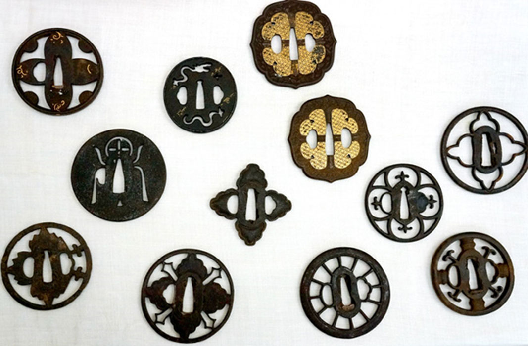 Sword Guards Confirm Samurai Warriors Secretly followed Christianity