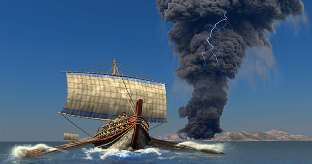 Santorini Eruption: New theory Says 'Pyroclastic Flows' Caused Devastating Bronze Age Tsunamis