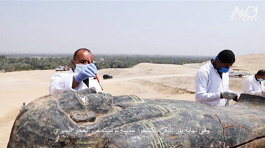 Treasure Trove of Discoveries Unearthed in Egypt's Saqqara Necropolis