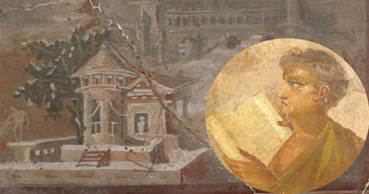 The Only Library Ever Recovered from Antiquity: The 1800 Scrolls of Herculaneum