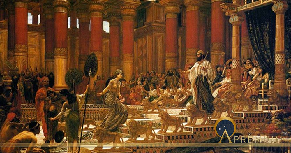 The Visit of the Queen of Sheba to King Solomon by Edward Poynter (1890